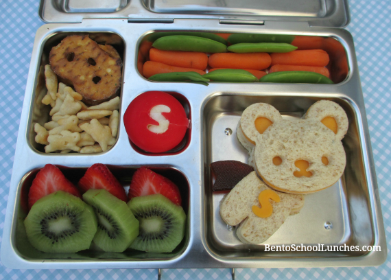 Superbear bento school lunch, cutezcute, planetbox rover