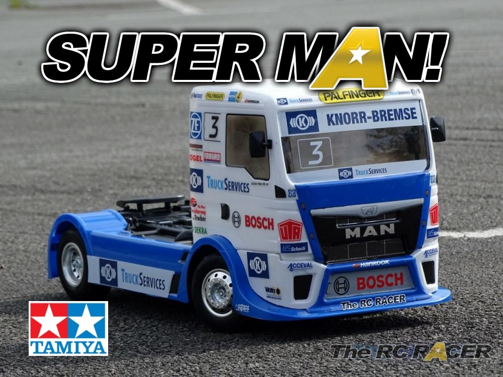58632 Tamiya Team Hahn Man Tgs Race Truck Build And Review