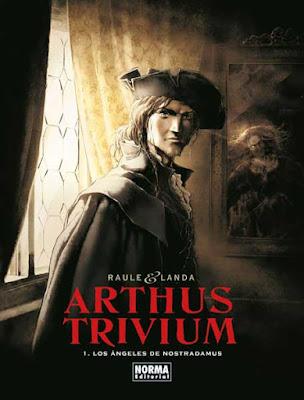 Portada Arthus Trivium 1, Los Angeles de Nostradamus