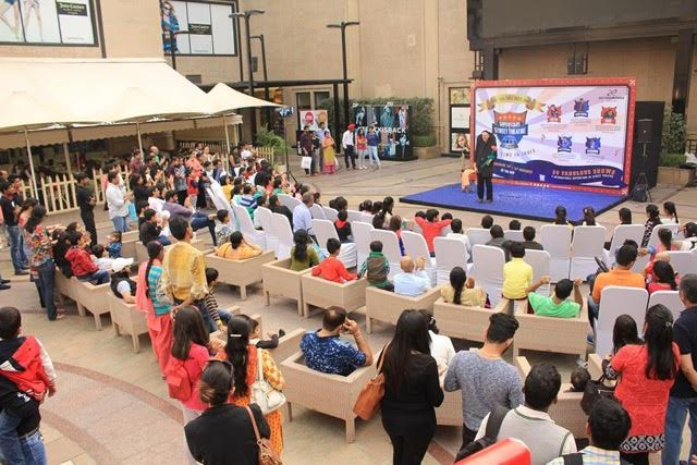 DLF Promenade exclusively presented these international acts - enthralling parents and children, this Children's Day