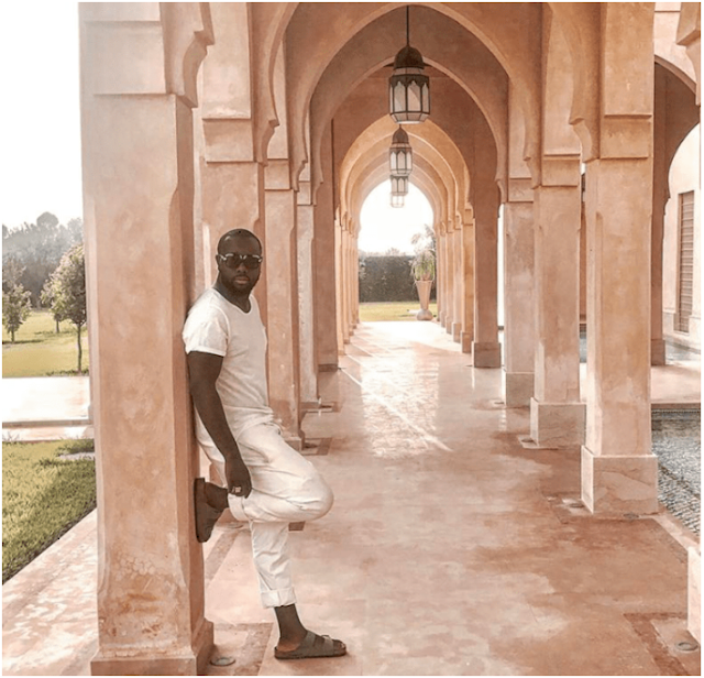 Famous celebrities who lived in Marrakesh city- Maitre Gims