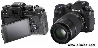 Spesifikasi lengkap kamera Fujifilm X-H1