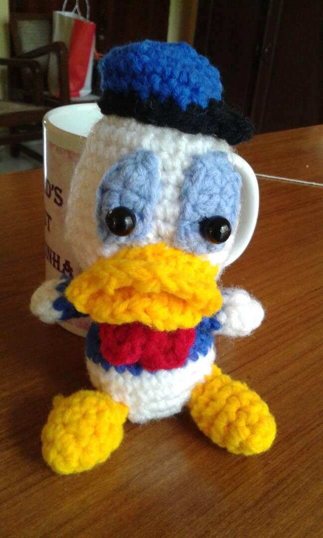 Donald Duck Amigurumi Free Crochet Pattern Free Crochet Patterns