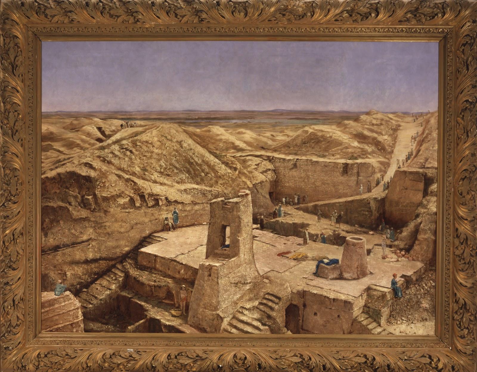 """""""Excavaciones en Nippur"""""""