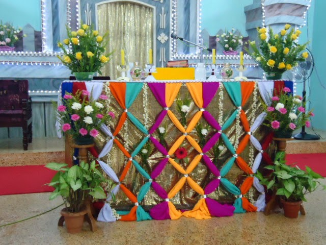 altar decoration with cloth altar decoration photos billingsblessingbags org 10339