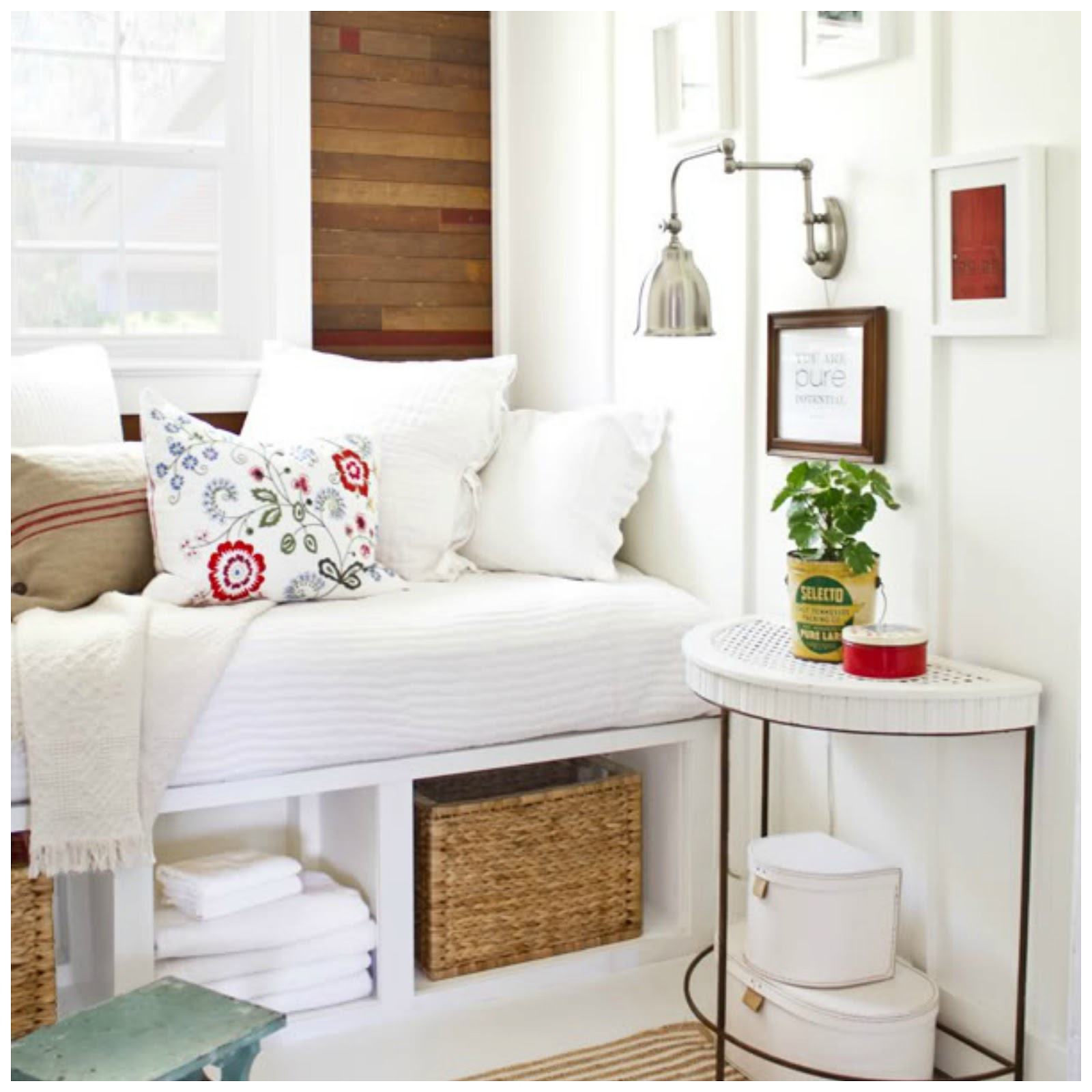 Room Makeover And A Box Bed: Fresh Ideas + Cleverly Modern Design