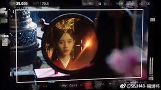 Legend of Yun Xi filming Ju Jing Yi