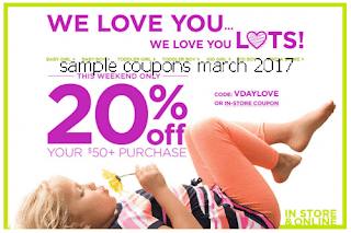 OshKosh B'gosh coupons march 2017