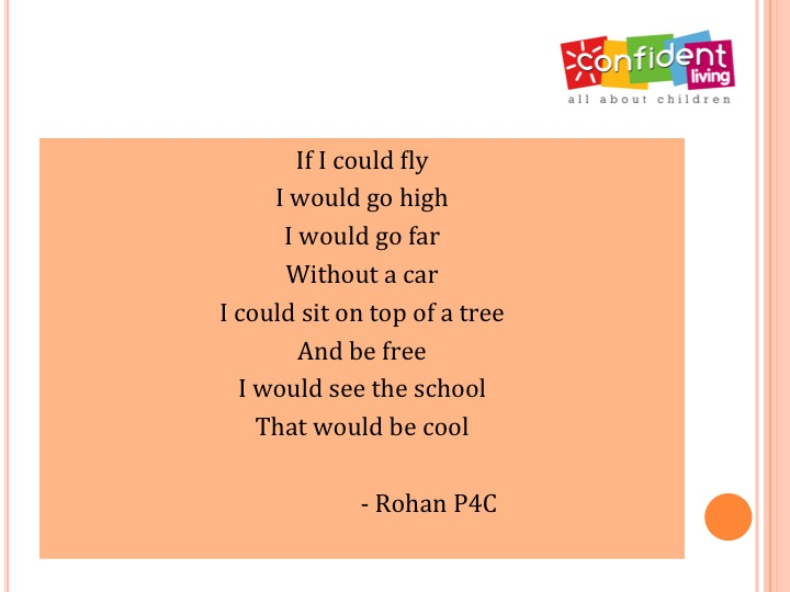if i could fly poems written by kids