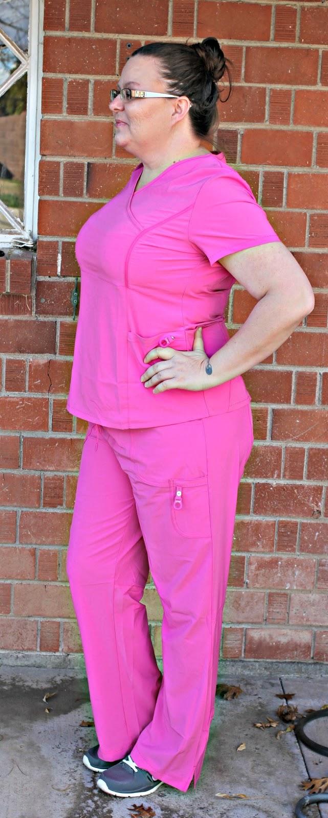 Clinical Scrubs: Style + Function (Plus a Giveaway!), Landau Scrubs Review