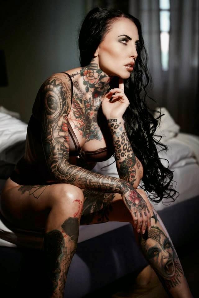 Tattoo Models Frauen