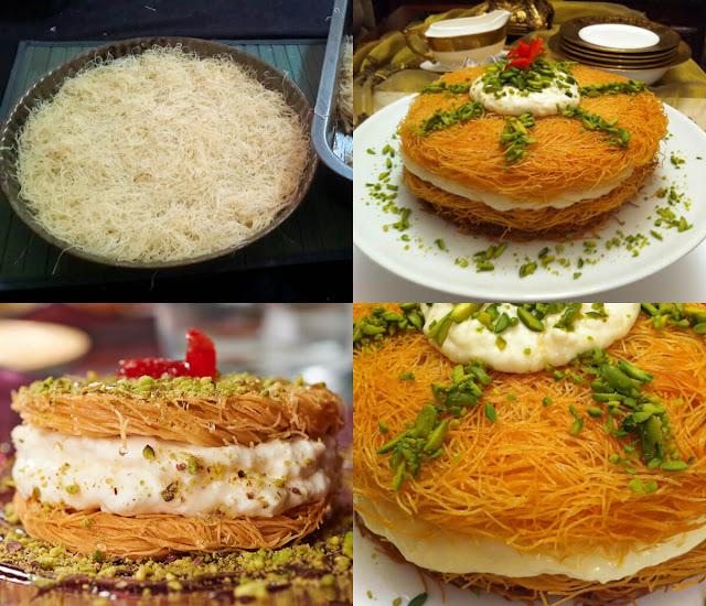 العثملية بالقشطة من ألذ الحلويات الشرقية الفاخرة، طريقة سهلة وبسيطة، تعرفوا عليها مع عالم الطبخ والجمال!