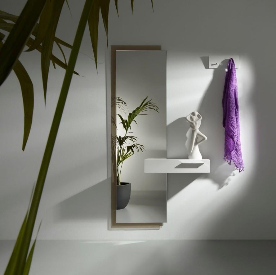 Fotos de hall de entrada modernos decora o e ideias - Espejos para hall de entrada ...