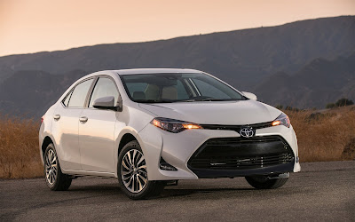 2017 toyota corolla white widescreen resolution hd wallpaper