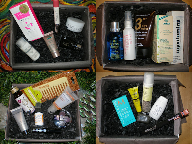 Lookfantastic Beauty Boxes from previous months