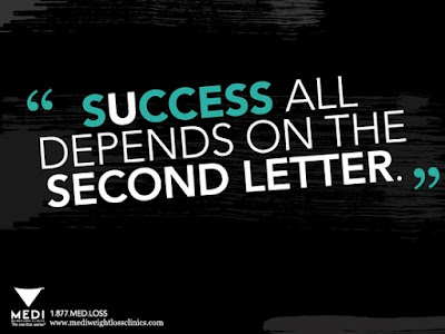 student success all depends on the second letter.