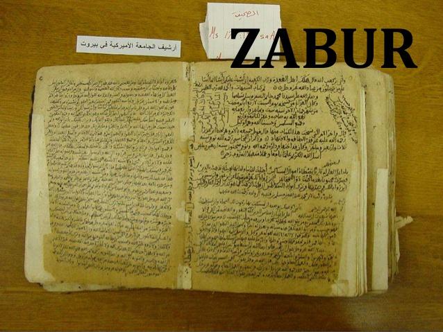 Kisah Inspirasi Islam Kitab Taurat Zabur Injil Dan Al Quran Dan Para Penerimanya