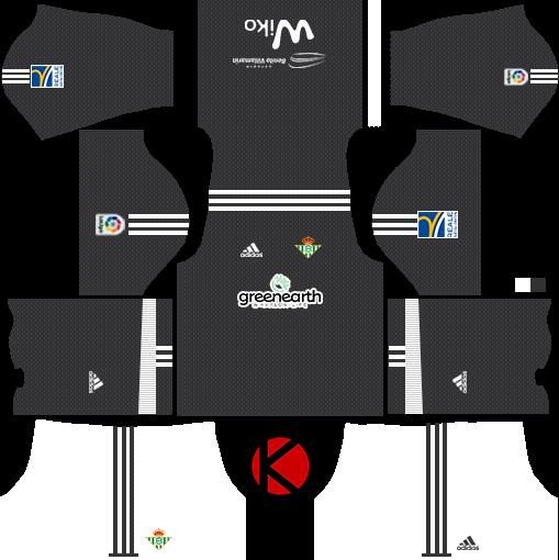 Real Betis Kits 2017 18 - Dream League Soccer - Kuchalana 4bba71455