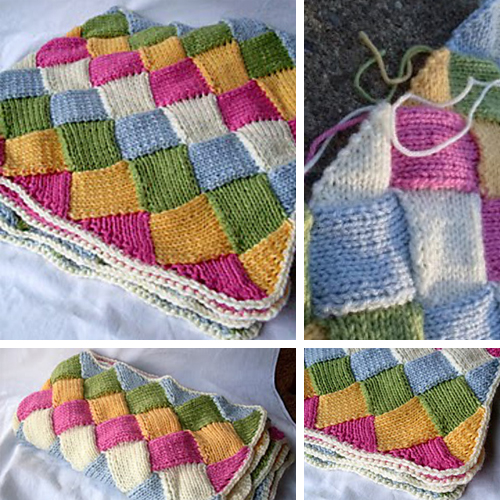 Tumbling Blocks Blankie - Free Pattern