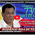 HAPPY BIRTHDAY Mayor President DUTERTE