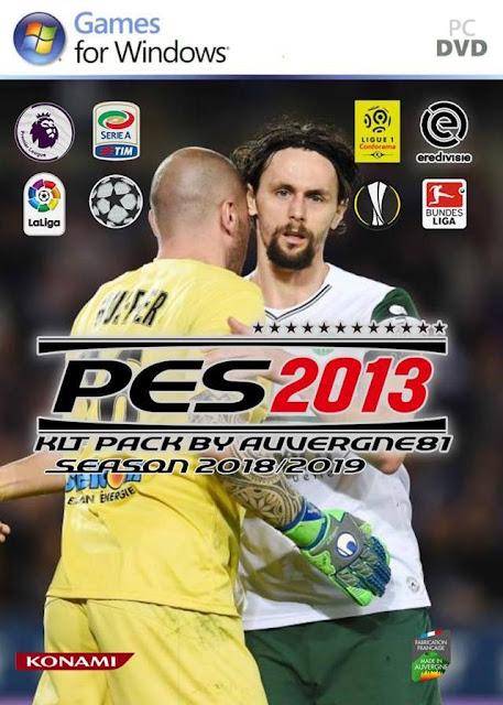 Kitpack Season 2018-2019 PES 2013
