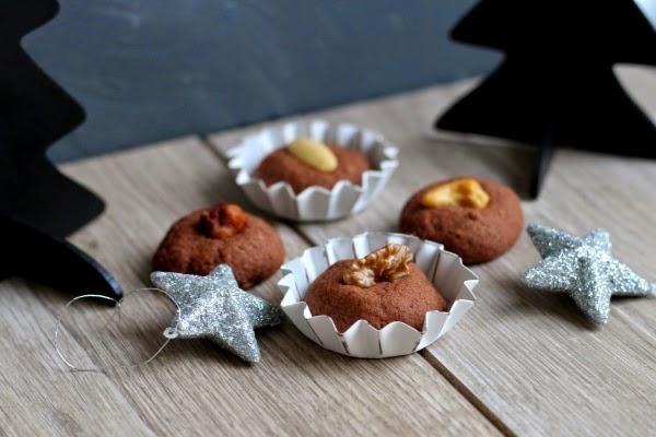 Post aus meiner Küche, Lebkuchen-Makronen, Nussbusserl, Marzipan-Päckchen, Weihnachten, Weihnachtspost, Fleurcoquet