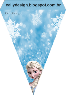 Impeccable image with frozen banner printable
