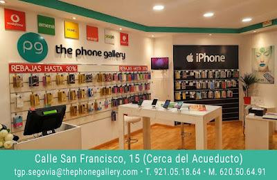 TU TIENDA DE MOVILES Y ACCESORIOS EN SEGOVIA. Estamos en Calle San Francisco nº 15 T. 921.05.18.64 / M. 620.506.491 iPHONE, APPLE, Samsung, ALCATEL, BQ, HUAWEI, LG, SONY. MOVISTAR, MASMOVIL, ORANGE, VODAFONE, EMPRESAS