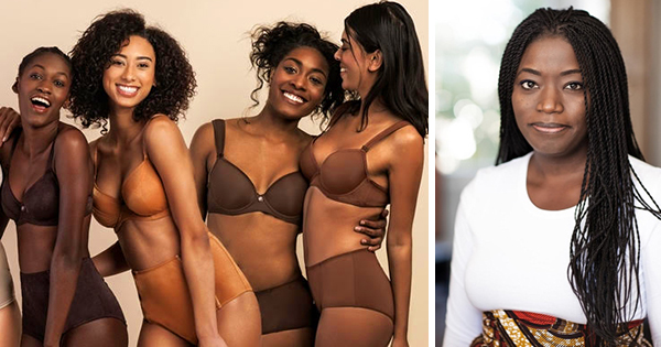 Sadia Sisay, founder of Being U Lingerie Line
