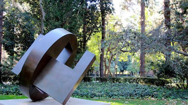 Los Angeles #252 Ucla' Franklin . Murphy Sculpture