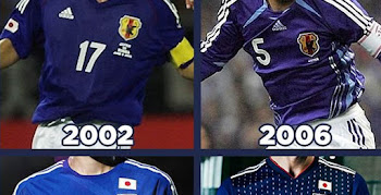 138914601 Here Are All Japan World Cup Home Kits in History