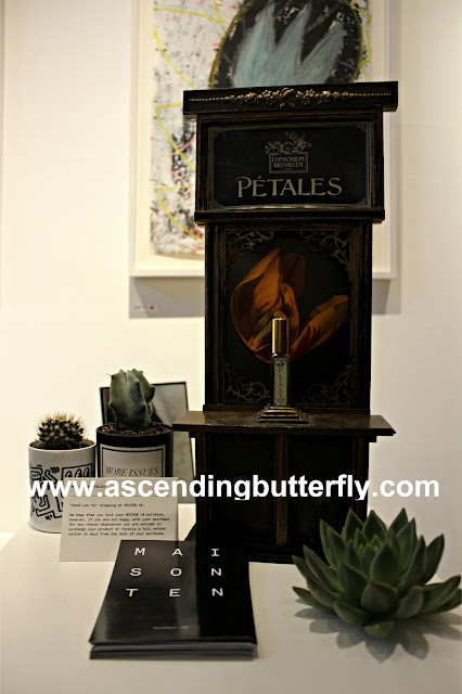 Petales Euphorium Brooklyn Display #Sniffapalooza #SniffaVoluptuary event @Maisonten in New York City