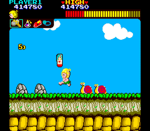 Wonder Boy+pc+game+retro+arcade+portable+download free+videojuego+descargar gratis