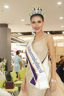 Miss Thailand beauty queen dies in car crash