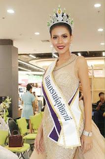 Miss Thailand beauty queen dies in car crash