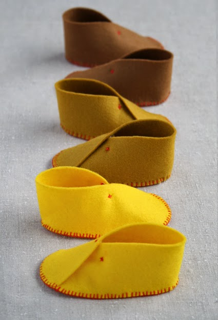 Diy Easy Felt Baby Shoes The Idea King