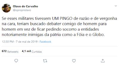 Twitter Olavo