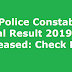UP Police Constable Final Result 2019 Released: Check Here