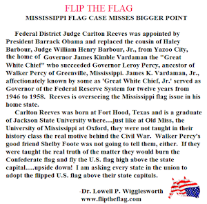 MISSISSIPPI TO FLIP THE FLAG?