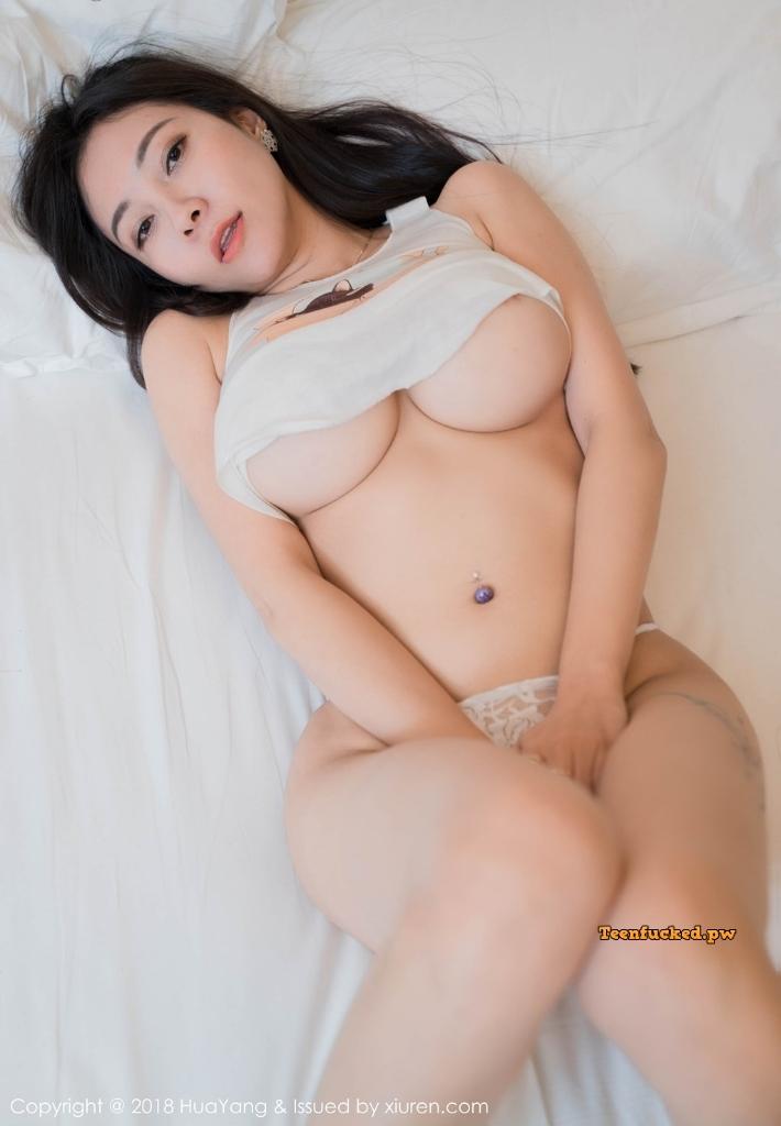 HuaYang 2018 10 23 Vol.090 Victoria Guo Er MrCong.com 018 wm - HuaYang Vol.090: Người mẫu Victoria (果儿) (43 ảnh)