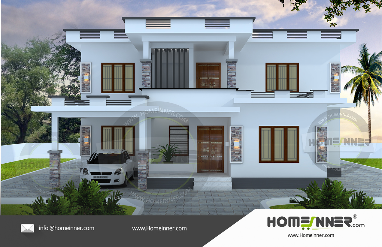 HIND-26005 Architectural house plan villa floor plan package