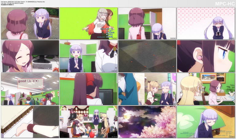 Capturas de New Game!