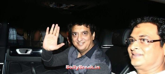 Sajid Nadiadwala, Celebs clicked at 'Kick' Special Screening at Yash Raj Studios