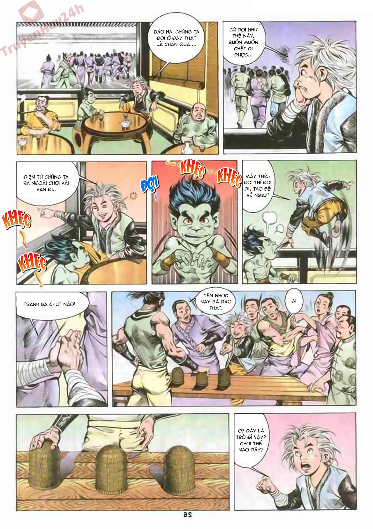 Cơ Phát Khai Chu Bản chapter 71 trang 26