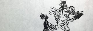 影織のリトの切り絵