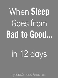 Some reasons your child's sleep sometimes goes from bad to good