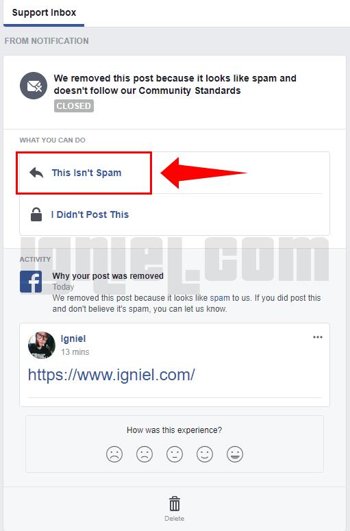 Solusi Tidak Bisa Share URL Blog Ke Facebook