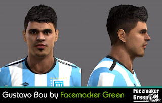 Face Gustavo Bou 2016 Pes 2013