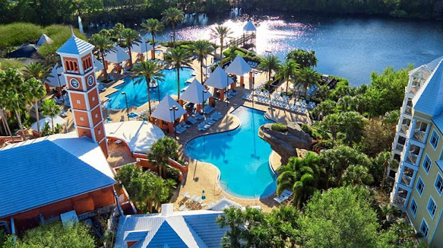 Book Hilton Grand Vacations Suites, a resort hotel directly across from SeaWorld® Orlando with three pools, complimentary WiFi, shuttle to SeaWorld and more.