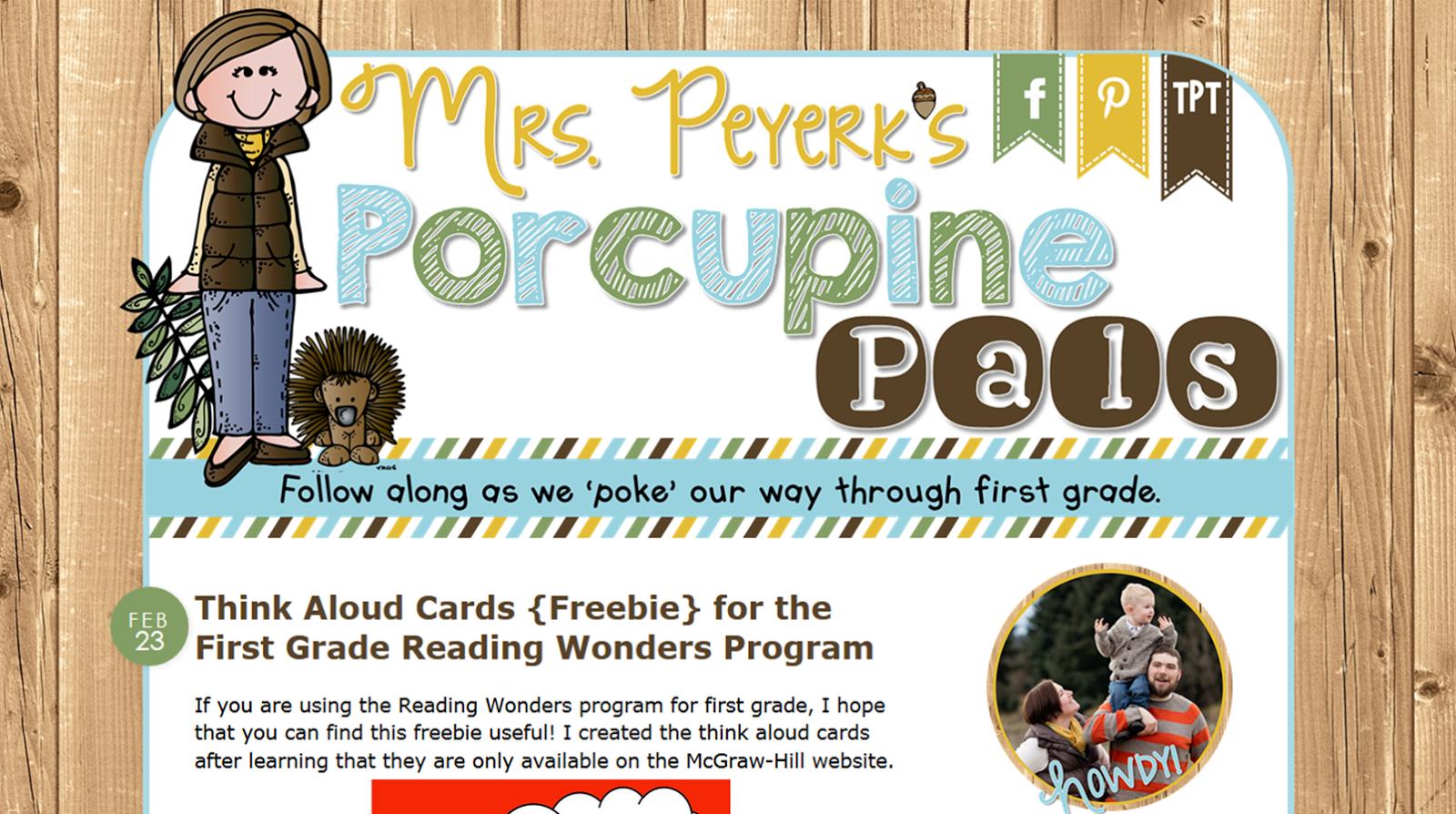 http://www.porcupinepals.blogspot.com/
